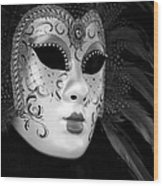 Carnavale - Venice Wood Print