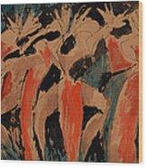 Carnavalia 3 Wood Print