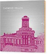 Carnegie Mellon University Hamerschlag Hall Wood Print