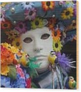 Carnevale Di Venezia 97 Wood Print