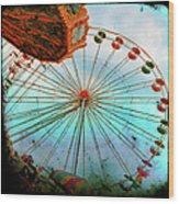 Carnival Colors Wood Print