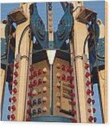 Carnival Crown Wood Print