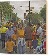 Carnival Outdoor Celebrations Social Occasion  Wood Print