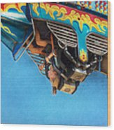 Carnival - Ride - The Thrill Of The Carnival  Wood Print