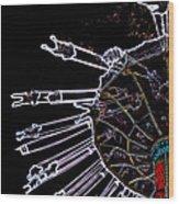 Carnival - Sky Swings Wood Print