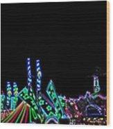 Carnival - Tent Tops Wood Print