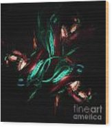 Carnivorous Flower Wood Print