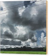Carolina Clouds Wood Print
