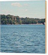 Carolina - Lake Norman Landscape Wood Print