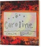 Caroline Wood Print