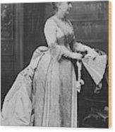 Caroline Lavinia Harrison (1832-1892) Wood Print