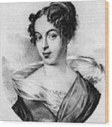 Caroline Unger-sabatier (1803-1877) Wood Print