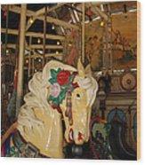 Balboa Park Carousel Wood Print