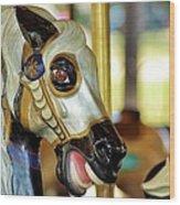 Carousel Horse 2 Wood Print