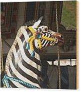 Carousel Imagination Wood Print