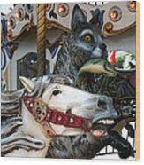 Carousel Wood Print
