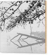 Carpenter Lake Morning Wood Print by Wendell Thompson