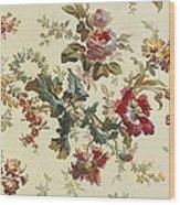 Carpet Design Wood Print