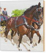 Carriage Artistic Wood Print