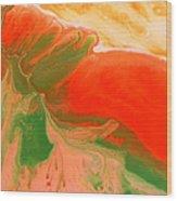 Carrot Wood Print