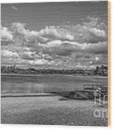 Carsington Beach Wood Print