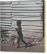 Cartagena Child Wood Print