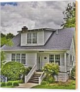 Carter Humphrey Guest House Mars Hill College Wood Print