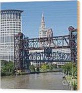 Carter Road Lift Bridge Wood Print