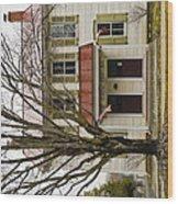 Carter Run Inn 3 Wood Print