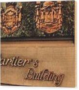 Cartier Jewellery Wood Print