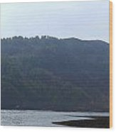 Cartoon - Loch Duich And The Surroundings In Scotland Wood Print