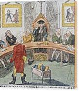 Cartoon: Surgeons, 1811 Wood Print