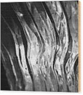 Carved Ice Wood Print