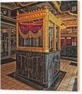 Carver Theatre Box Office - Birmingham Alabama Wood Print
