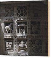 Carvings Of Jainism Wood Print