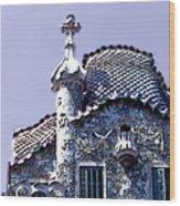 Casa Batllo - Barcelona Wood Print