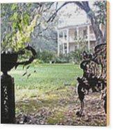 Casa Blanca Wood Print