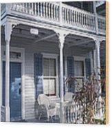 Casa Cayo Huego  Wood Print