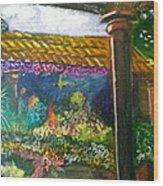 Casa Luna Wood Print
