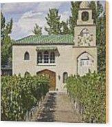 Casa Rodena Winery Wood Print