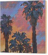 Casa Tecate Sunrise Wood Print