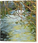 Cascade Cedar Wood Print