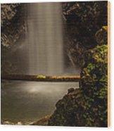 Cascade Falls 8 Wood Print