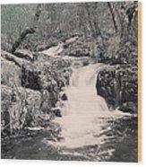 Cascade On Taum Sauk Mountain 2 Wood Print