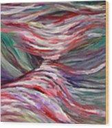 Cascades Wood Print