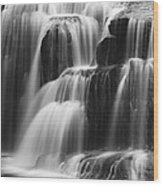 Cascades Of Lower Lewis Falls Wood Print