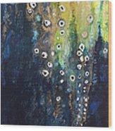 Cascading Colors II Wood Print