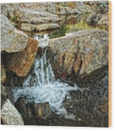 Cascading Downward Wood Print