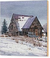 Cache Valley Barn Wood Print