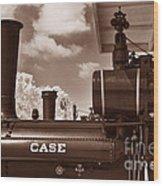 Case Steam Wood Print
